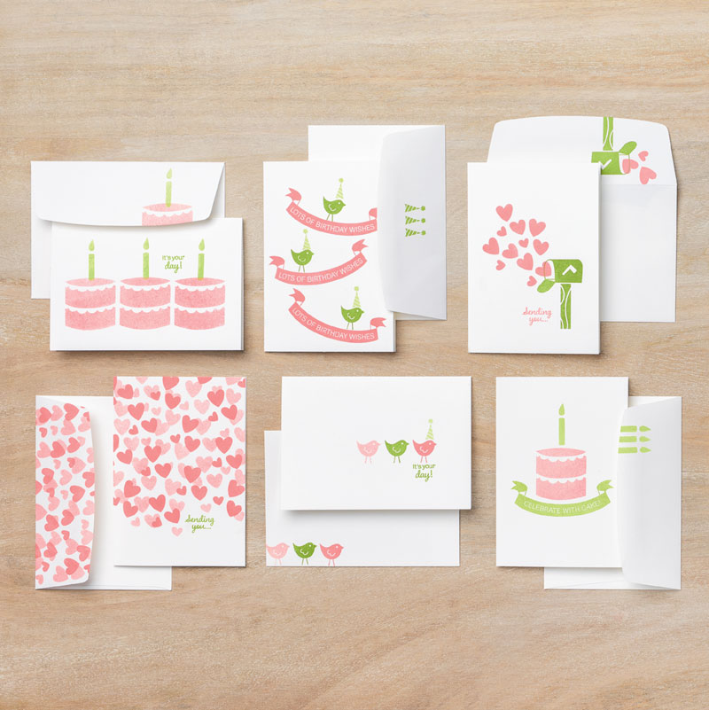 Celebrate with Cake cards